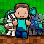 Imagem para TV tema Minecraft