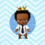 Painel TV Festa Poderoso Chefinho Afro