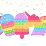 Painel TV Pop It Candy Color 3