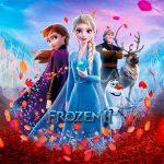 Imagem para TV Festa no Rack Tema Frozen 2