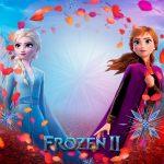 Painel para Televisao Festa Frozen 2