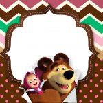 Painel para Televisao Festa Masha e o Urso