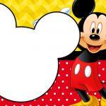 Painel para Televisao Festa Mickey