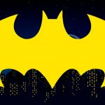 Painel para Televisao Tema Batman