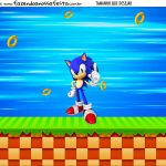 Personalizado Sonic
