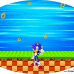 Placa Elipse Sonic