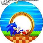 Rotulo Redondo Sonic