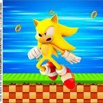 Rotulo para Caixa de Acrilico Sonic