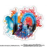 Topo Frozen 2 numero 10