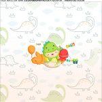 Adesivo Dinossauro Baby