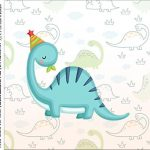 Caixa Acrilico 5x5 Dinossauro Baby