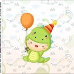 Caixinha Acrilico Dinossauro Baby