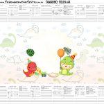 Calendario Personalizado 2020 Dinossauro Baby