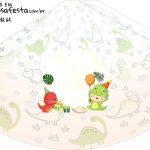 Chapeu de Festa Personalizado Dinossauro Baby