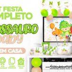 Kit Festa Dinossauro Baby gratis