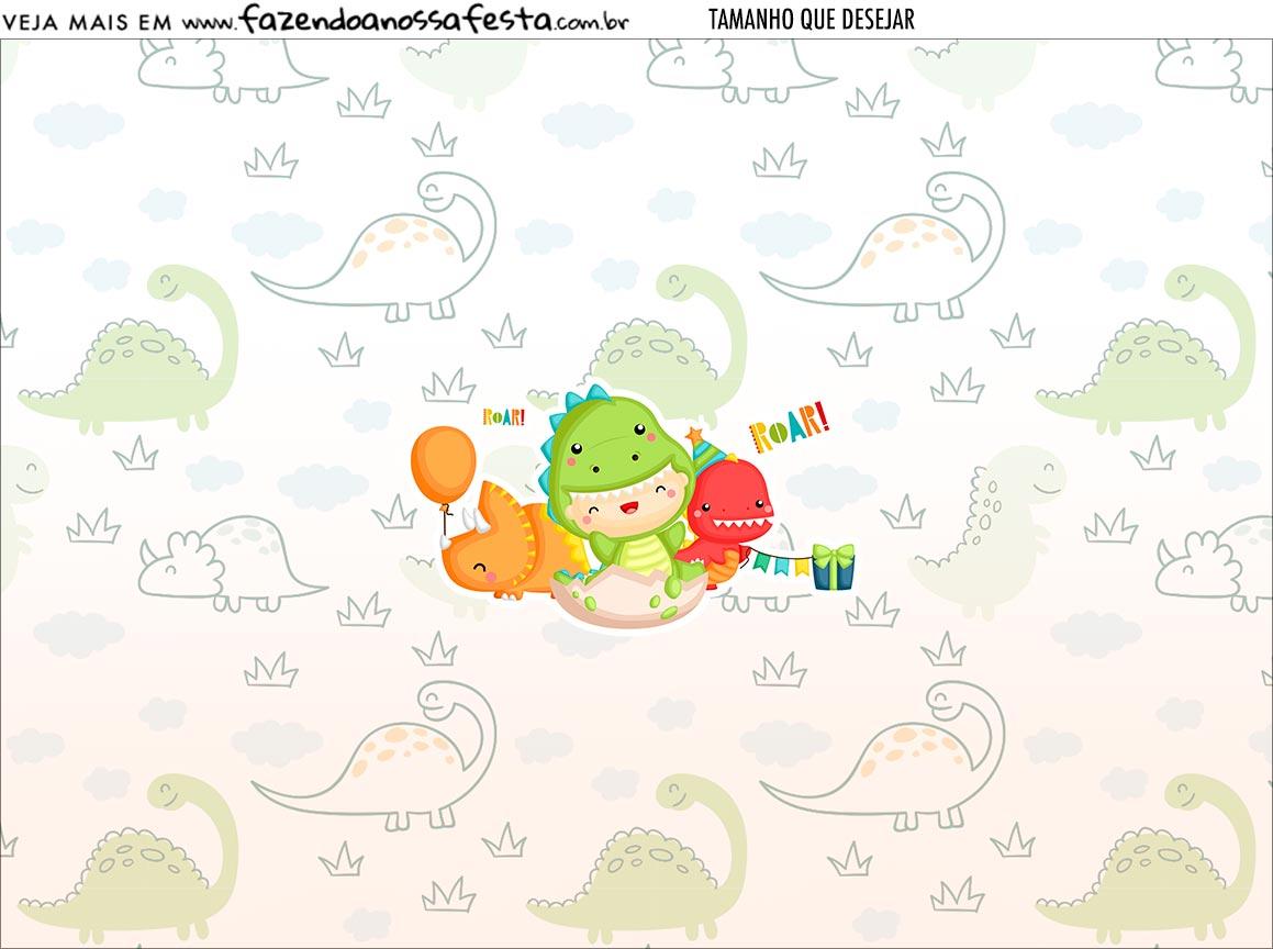 Personalizado Dinossauro Baby