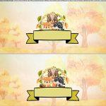 Saia de bolo Bosque Encantado gratis