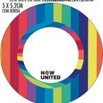 Adesivo para tubetes Kit Festa Now United