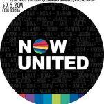 Adesivo redondo Now United
