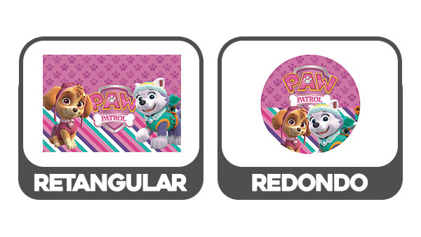 Baixe aqui o Painel Patrulha Canina Rosa em PDF