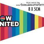 Bandeirinha para sanduiche Now United