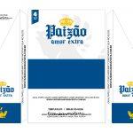 Caixa Cerveja Long neck Dia dos Pais Azul 2