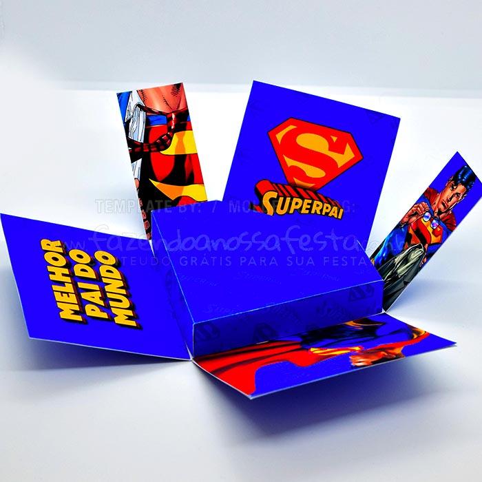 Caixa Explosao Super Pai 2