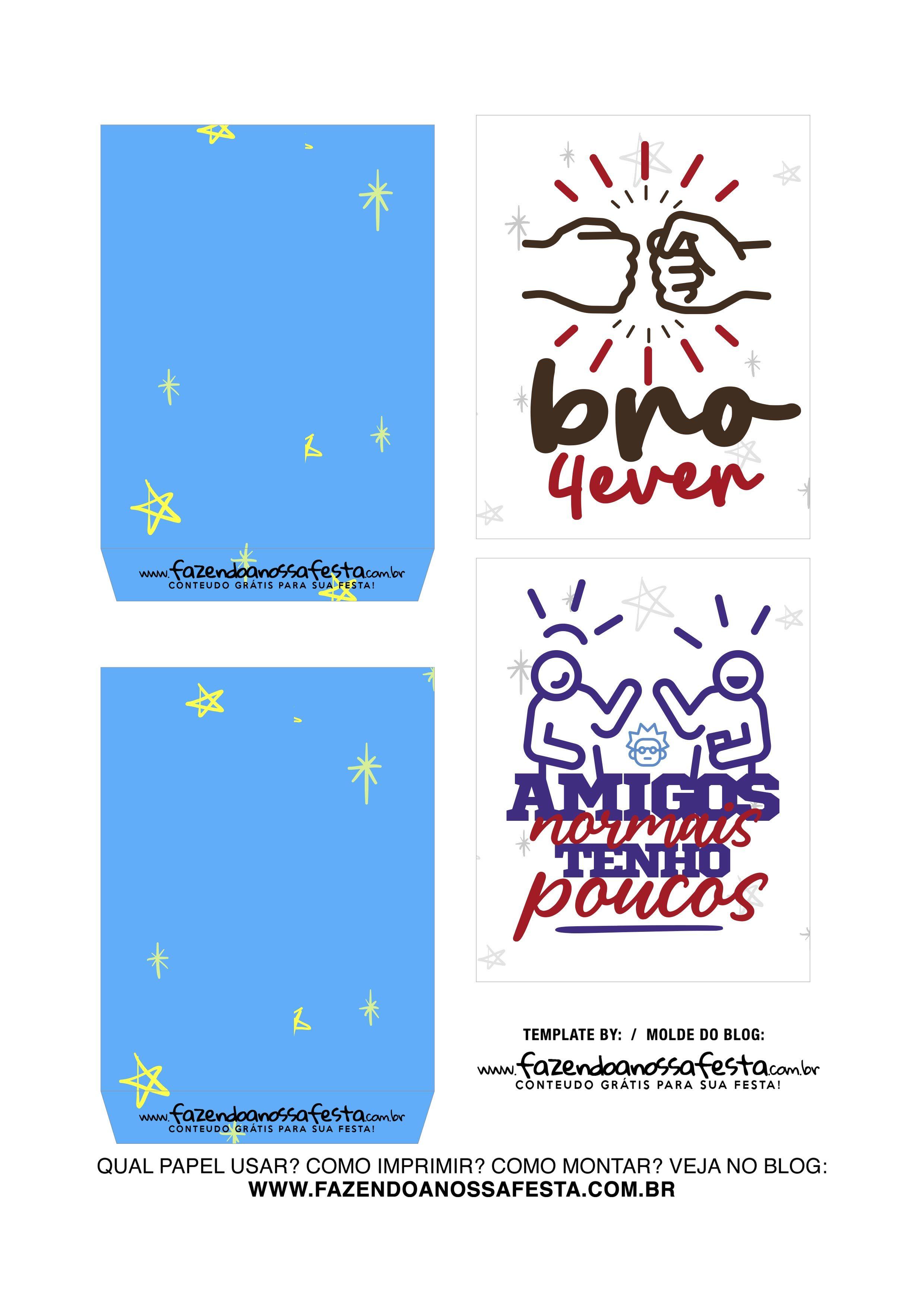 Caixa Explosiva Dia do Amigo Azul 3