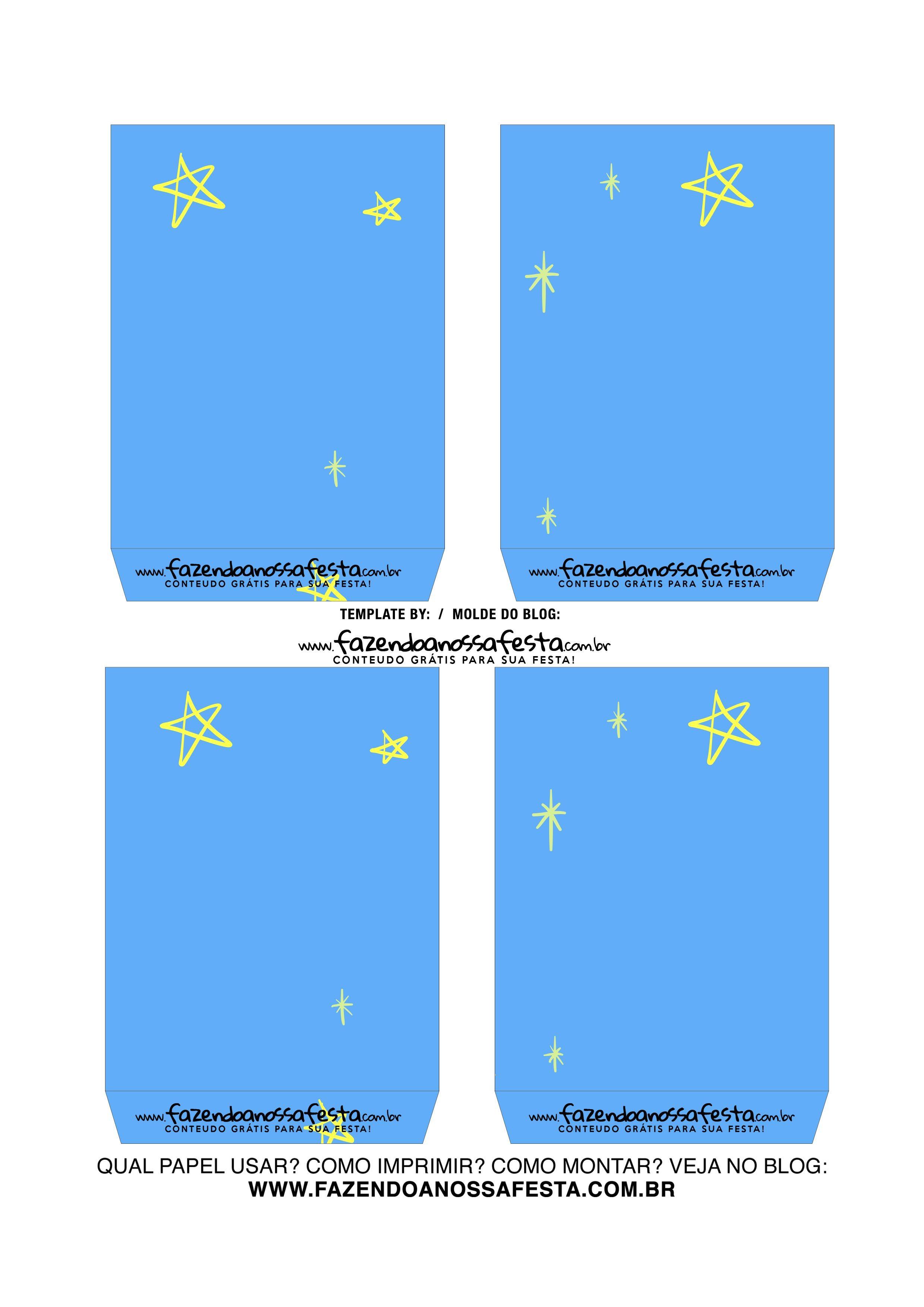 Caixa Explosiva Dia do Amigo Azul 4