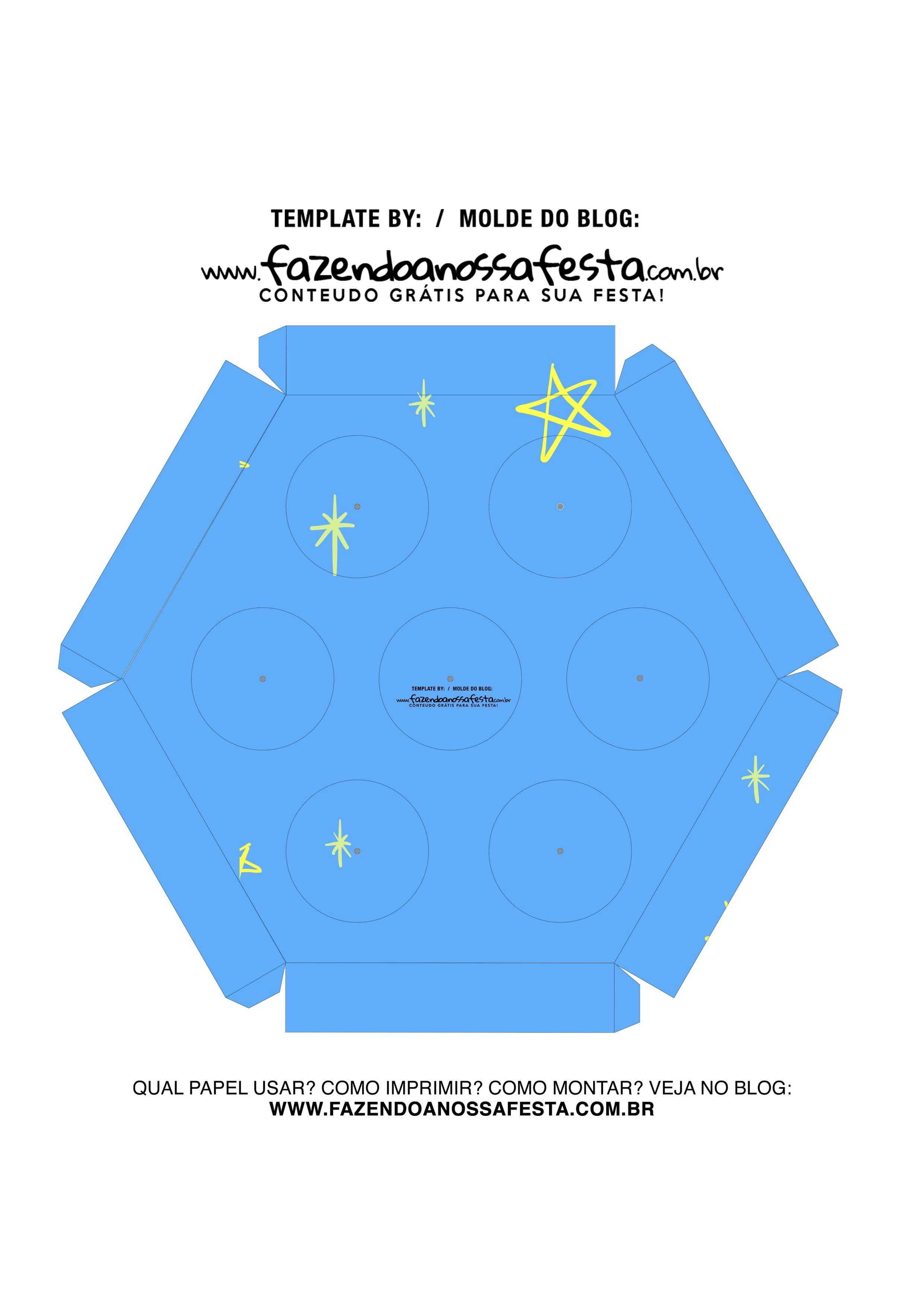 Caixa Explosiva Dia do Amigo Azul 6