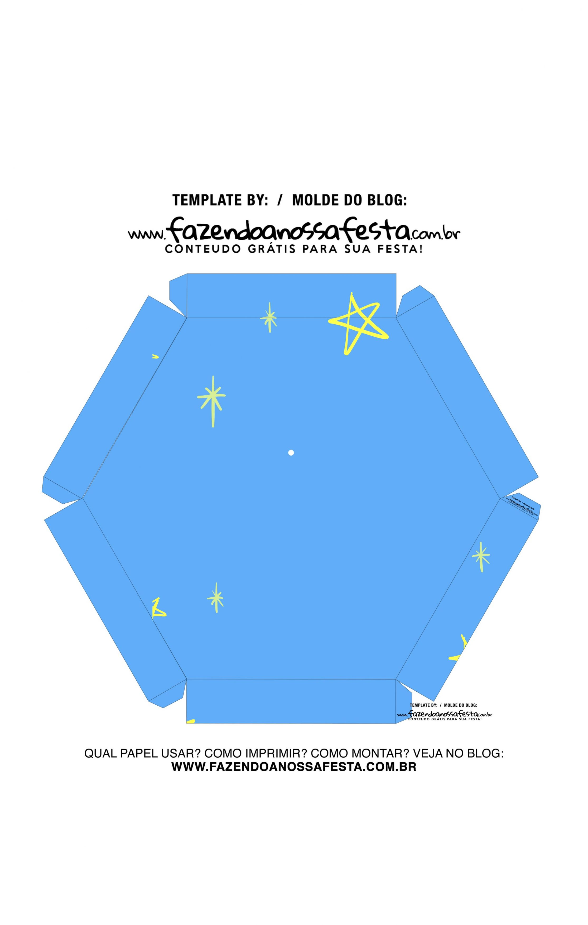Caixa Explosiva Dia do Amigo Azul 8