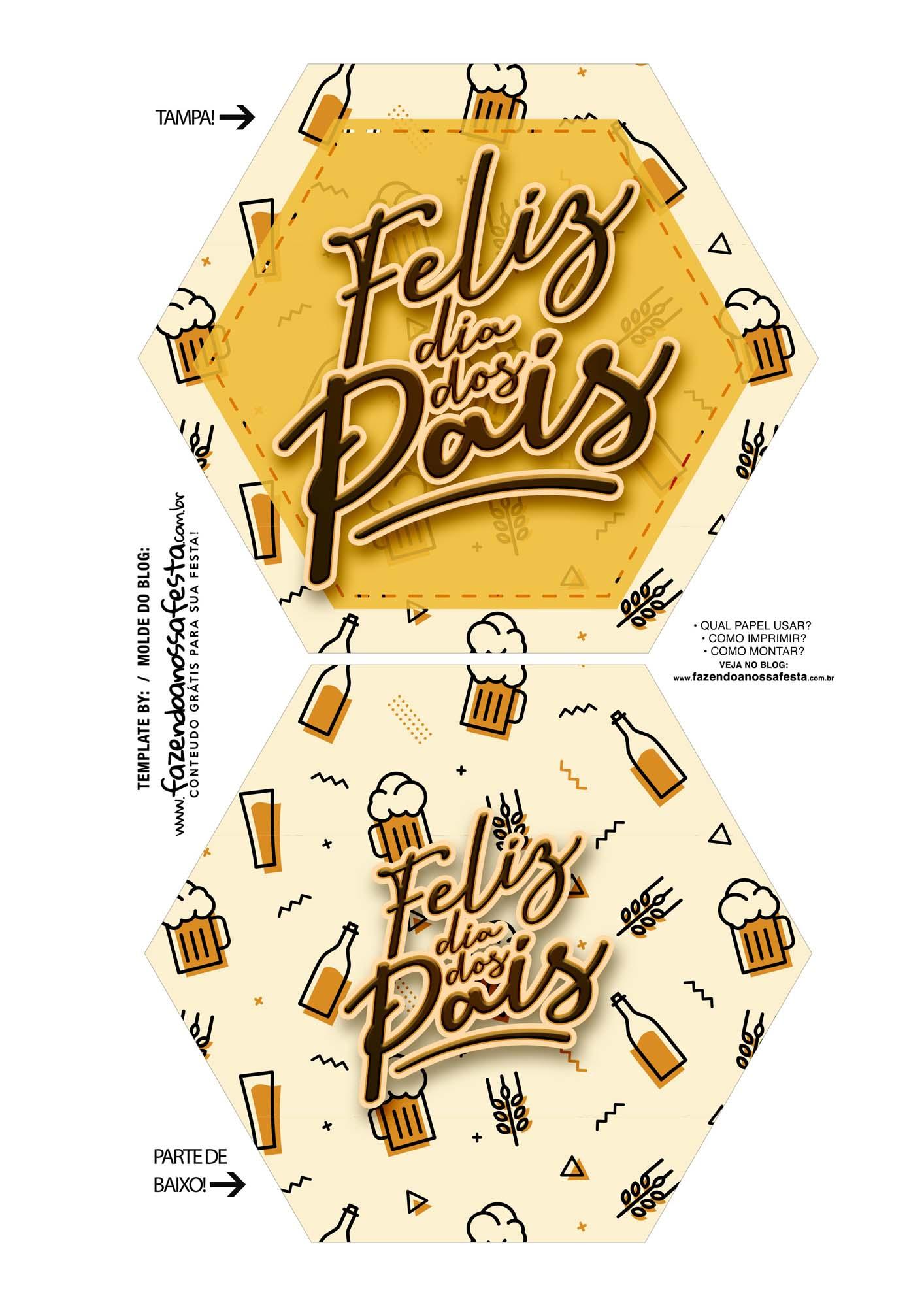 Caixa Explosiva Dia dos Pais Cerveja 1