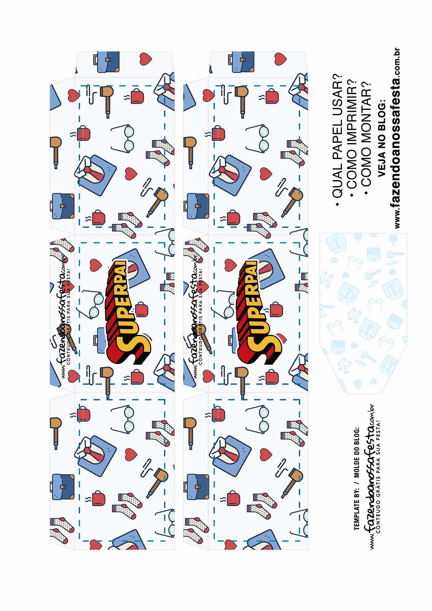 Caixa Explosiva Dia dos Pais Gravata 2