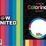 Capa Livrinho para Colorir Now United