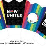 Chachepot centro de mesa Now United