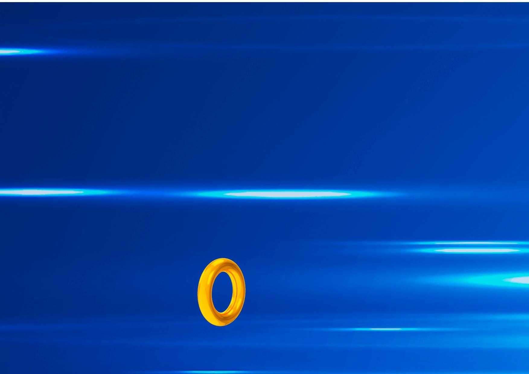 Painel Festa Sonic 1