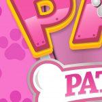 Painel Redondo Patrulha Canina Rosa 6