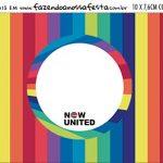 Plaquinha de Comida Now United