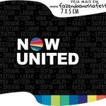 Topper Bandeirinha Now United