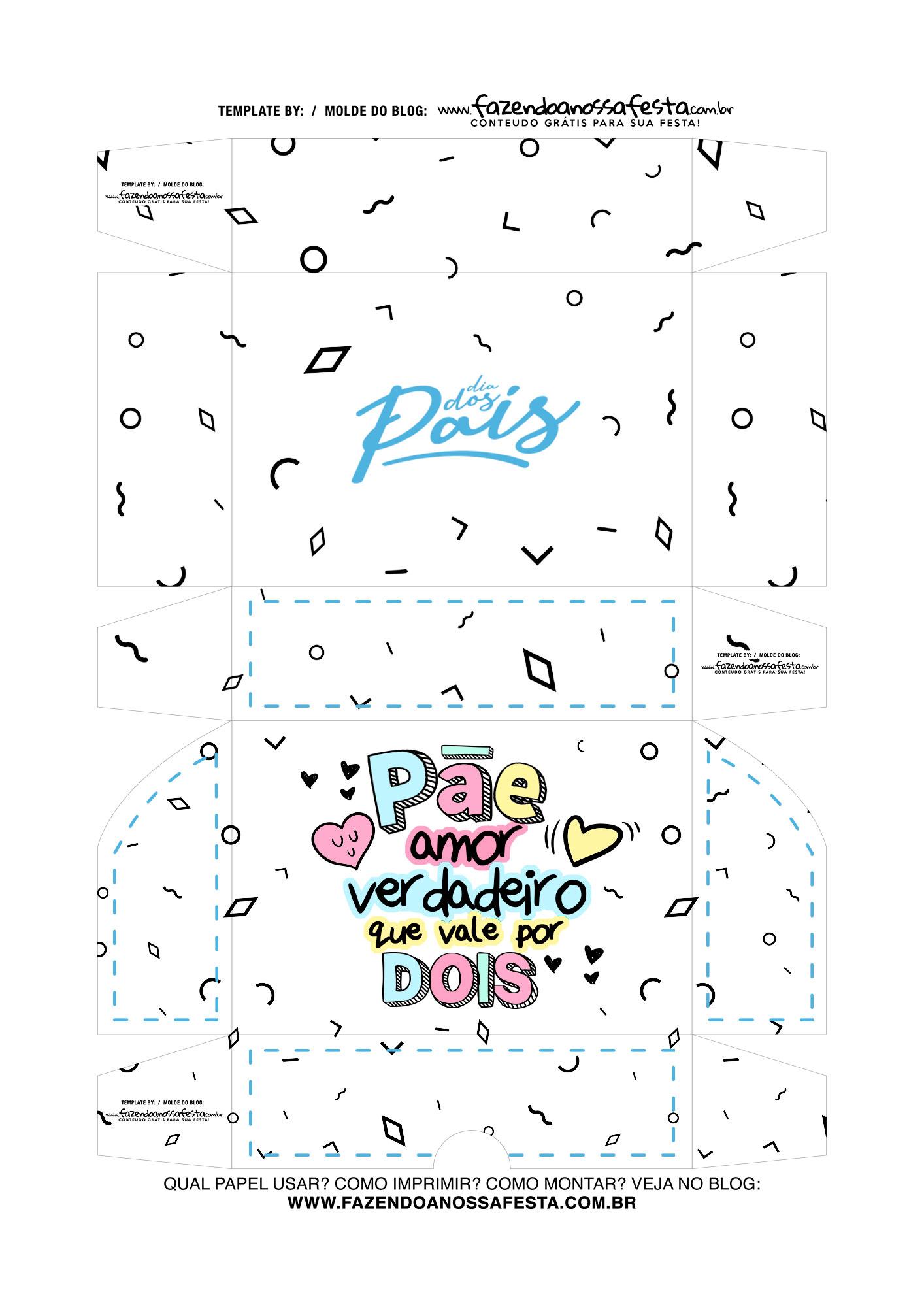Caixa Dia dos Pais Pae