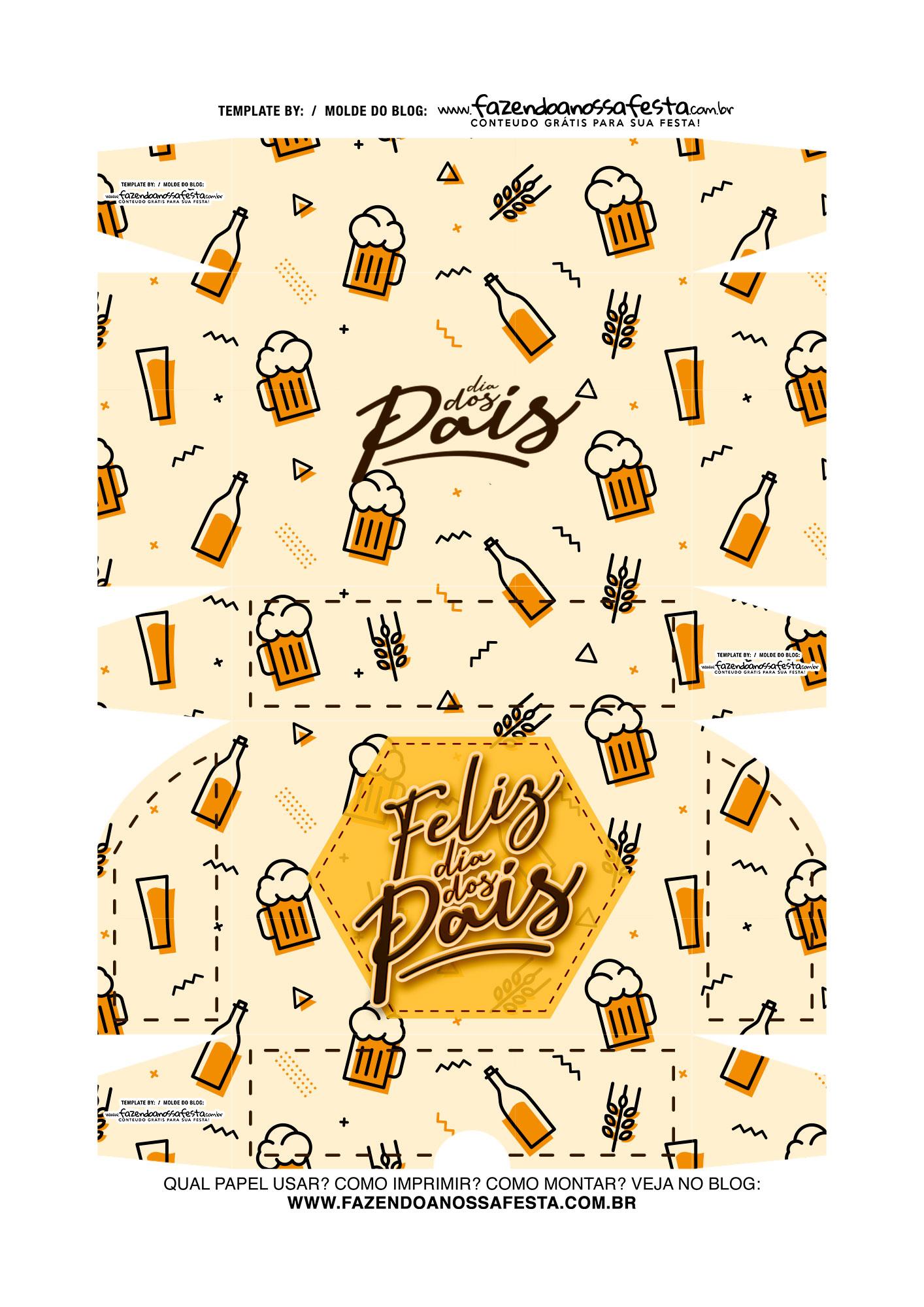 Caixa Dia dos Pais cerveja 8
