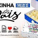 Caixa Dia dos Pais para doces gratis