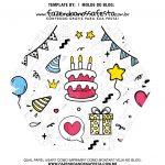 Caixa Explosiva Feliz Aniversario 66