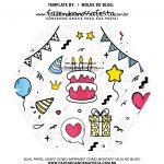 Caixa Explosiva Feliz Aniversario 88