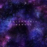 Capa Calendario Mensal 2021 Galaxia