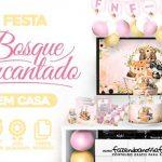 Kit Festa Bosque Encantado Menina