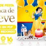 Painel Festa Branca de Neve