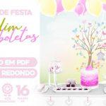 Painel Festa Jardim das Borboletas