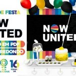 Painel Festa Now United para imprimir