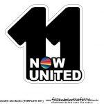 Topo de bolo Now United 8